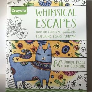 Crayola Whimsical Escape Coloring Book Extra Large